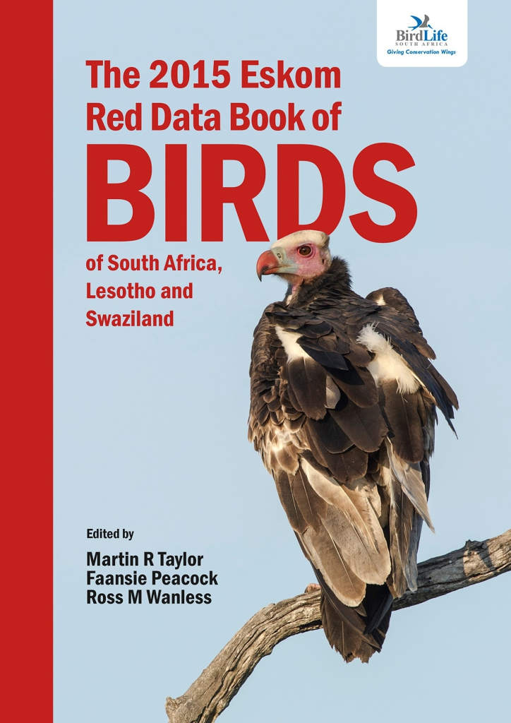 Front cover of Eskom Red Data Book of Birds
