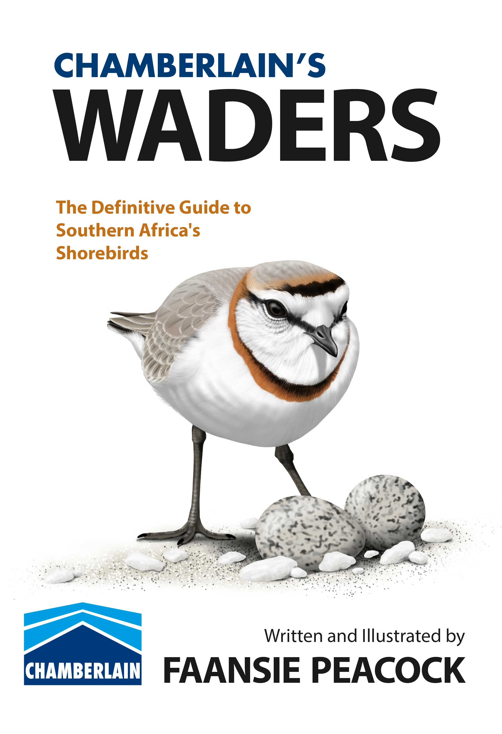 Front cover of Chamberlains Waders Faansie Peacock