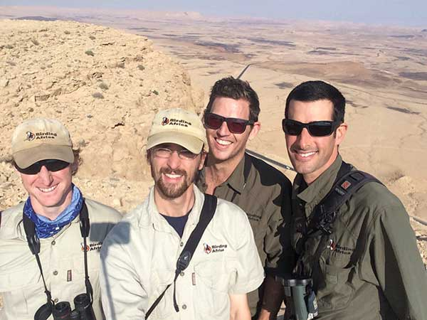 The Birding Africa Black Harriers selfie